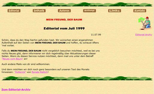 Screenshot: Mein Freund, der Baum (1999)