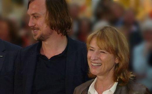 Lars Eidinger und Corinna Harfouch bei der NRW-Filmpremiere in Essen