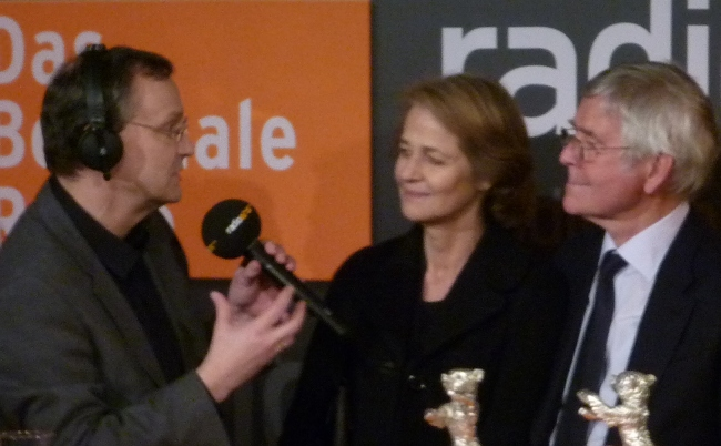 Knut Elstermann im Berlinale Nighttalk
