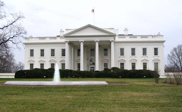 Das Weiße Haus, der Amtssitz des US-amerikanischen Präsidenten