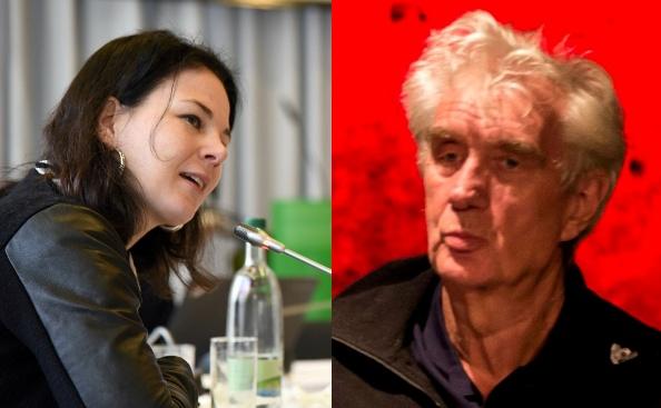 Annalena Baerbock und Thomas Ebermann
