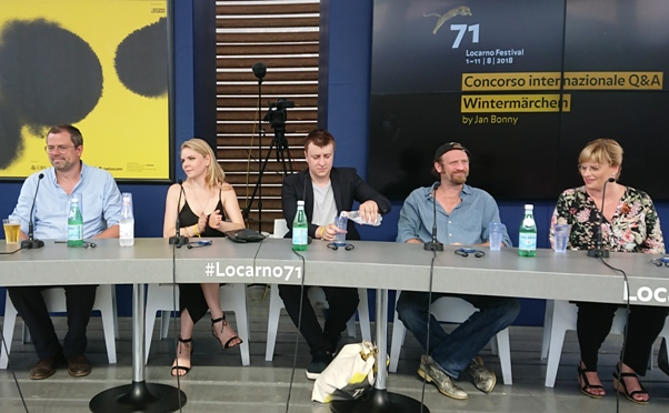 Publikumsgespräch bei der Premiere des Films auf dem Locarno Festival am 10.08.2018