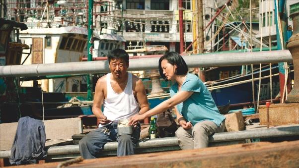 Wang Jingchun und Yong Mei im Film 'Bis dann, mein Sohn'