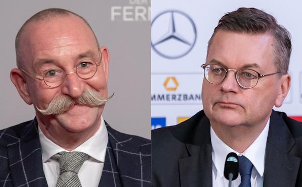 Horst Lichter und Reinhard Grindel