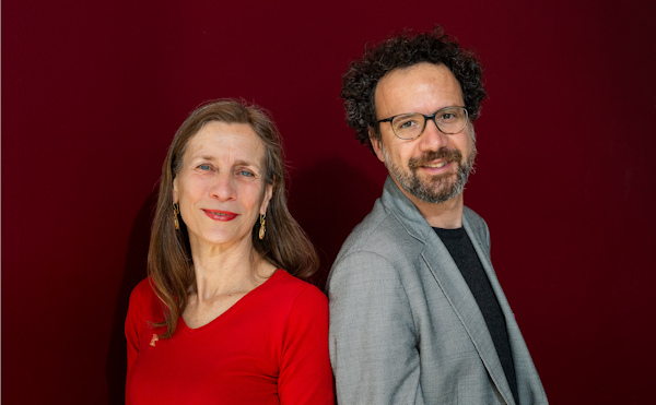Das neue Leitungsduo der Berlinale: Mariette Rissenbeek und Carlo Chatrian